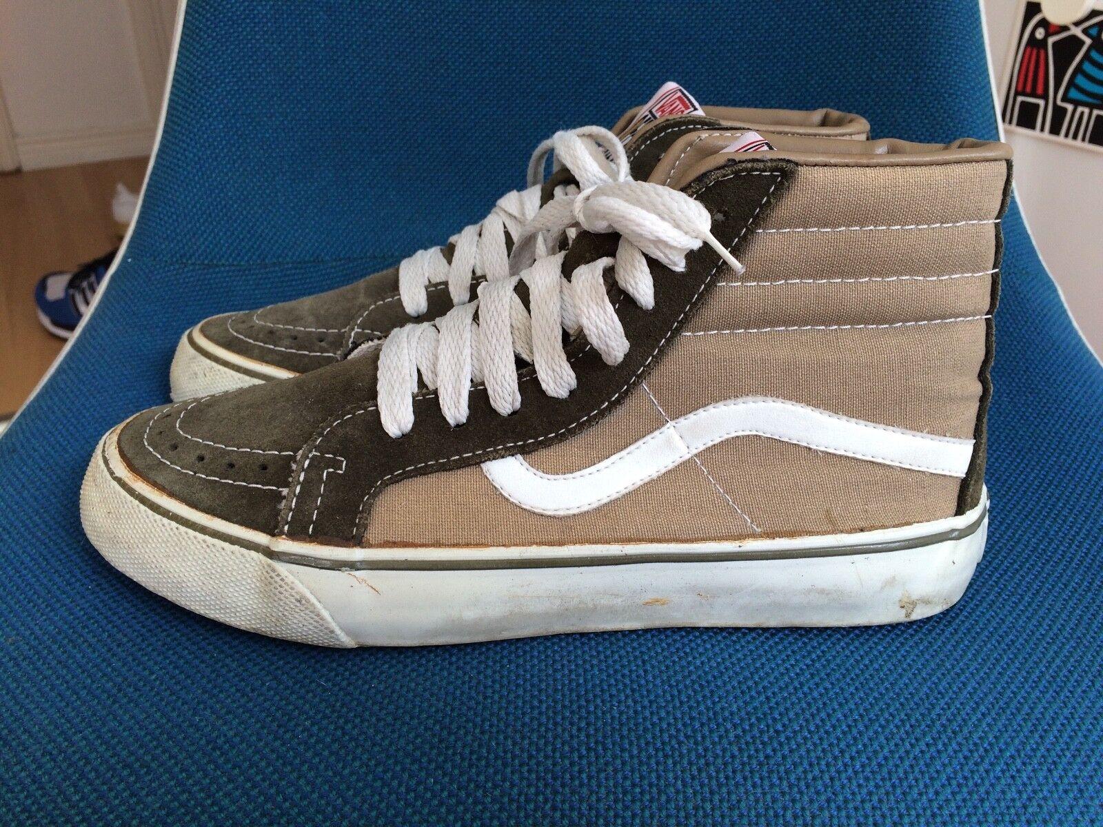 Vintage VANS Sneakers 80s Gr. 7 Off the Wall retro Skateboarding old skool no retro Wall 6e8732