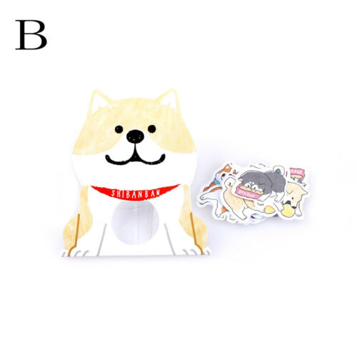 30pcs\Pack Cartoon Dog Animal Label Stickers DIY Diary Stationery Sticker DecoHK