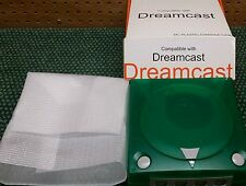 Dark Green Translucent Sega Dreamcast Case Shell New In Box