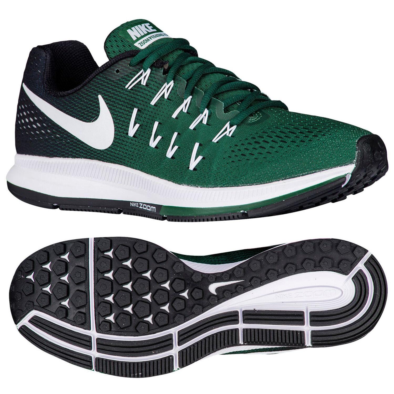 Nike Zoom Pegasus 33 843802-301 Gorge Green White Black Men Running shoes Sz 14
