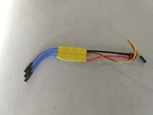 30A BRUSHLESS ESC W 5V BEC 3.5MM BULLETS AND T CONNECTOR AIRPLANE//HELI//DRONE