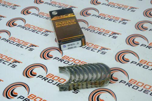 ACL 0.25mm Main Bearings for Honda Acura D16 B18A B20A B21A D17A//Z H22A//Z F23A//Z