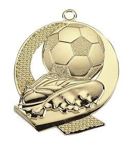 Medaille Lustig für Kindergeburtstag als Geschenk Medaillen Fußball mit Band