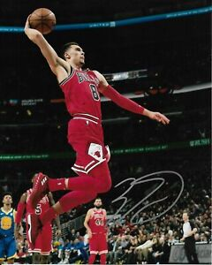 Zach LaVine Autographed Signed 8x10 Photo ( Bulls ) REPRINT