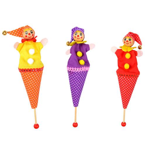 Poupée de jouet d/'éducation de chéri de marionnette de clown
