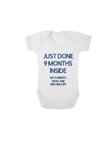 Personalised baby vest,bodysuit,babygrow,Nine months inside shower gift,name