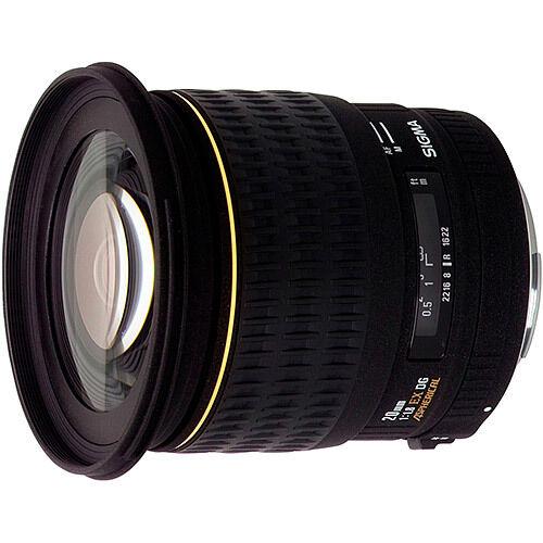 1 of 1 - Sigma 20mm f1.8 EX DG Lens - Canon Fit