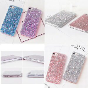 Bling-Glitter-Sparkly-Soft-Gel-Rubber-Phone-Cover-Case-For-iPhone-5-6-7-8-Plus-X