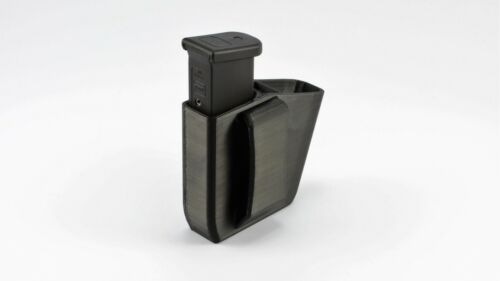 """GLOCK 43 9mm DOUBLE MAG POUCH USA RIGHTY Magazine Holder Fits Belts up to 2/"""""""