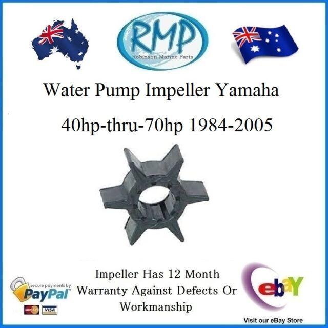 A New Water Pump Impeller Yamaha 40hp-thru-70hp 1984-2005 # R 6H3-44352-00