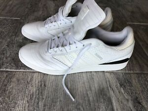 Men-039-s-Adidas-Busenitz-fashion-Sneaker-White-sz-11-5