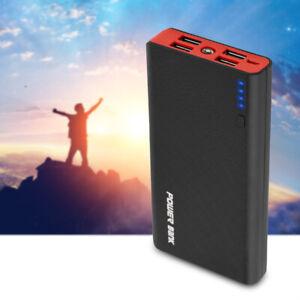 Mobile Power Bank Case 20000mAh Portable 4 USB External Battery Charger DIY Kit