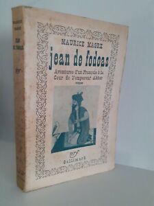 Maurice Magre Jeans Di Fodoas NRF Gallimard Parigi Spilla 1939
