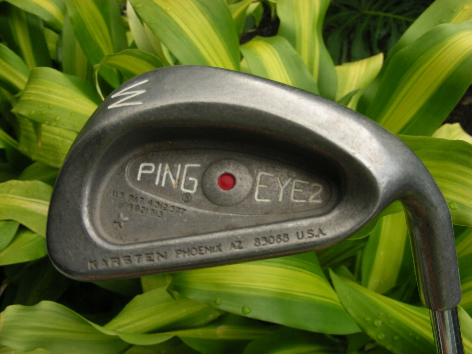 Ping Eye2 Plus  rojo Dot W Cuña-all-original Y En Excelente Estado  ganancia cero