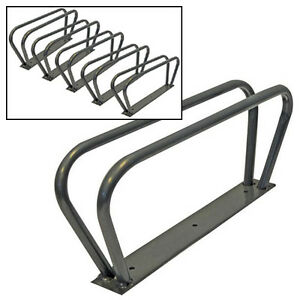 5-BICYCLE-CYCLE-BIKE-STORAGE-SECURITY-WALL-RACK-HOOK