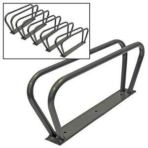 5-BICYCLE-CYCLE-BIKE-STORAGE-SECURITY-WALL-RACK-HOOK