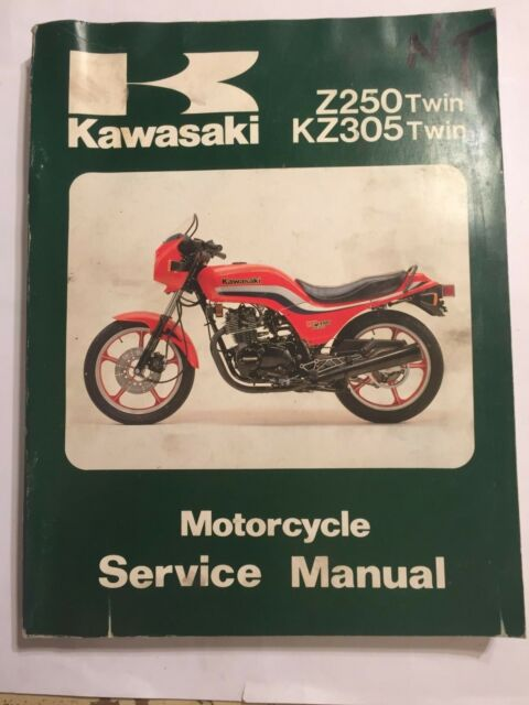 Kawasaki Z250 And Z305 Workshop Manual For Sale