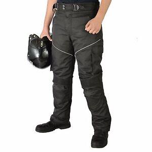 Moto-Coffre-Impermeable-Cordura-Approuve-CE-Textile-Pantalon