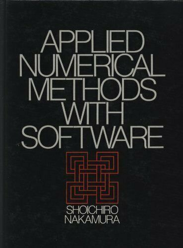 Applied Numerical Methods With Software
