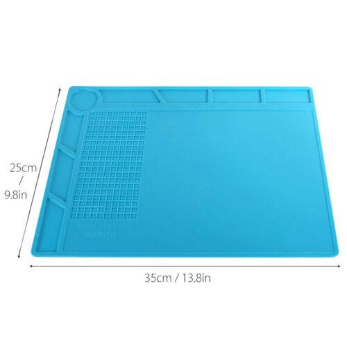 35x25cm Heat Insulation Silicone Pad Desk Mat BGA Soldering Repair Station