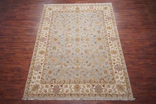 9X12 Chobi Peshawar Hand-Knotted Wool Area Rug Oriental Carpet (9 x 12.1)