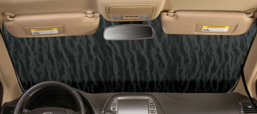 GOLD Windshield Custom Fit Sun Shade Heat Shield '03-'11 Mazda RX-8  MA-14-G