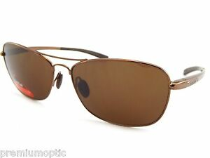 Kleidung & Accessoires Tlb Dark Brown 100% Uv Letzter Stil Bolle Metal Sunglasses Ventura 11571 Light Brown