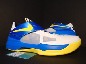 sale retailer dd48a 3d382 Image is loading Nike-Zoom-KEVIN-DURANT-KD-IV-ENTOURAGE-WARRIORS-