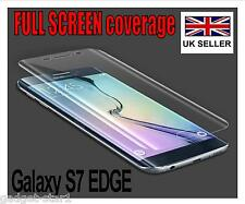 FULL COVERAGE HD CLEAR SCREEN PROTECTOR COVER FILM FOR SAMSUNG GALAXY S7 EDGE