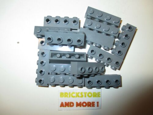 Lego Brique Brick Modified 1x4 4 Studs 30414 Dark Bluish Gray Choose Quantity