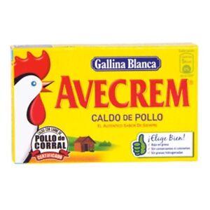 Spanish Gallina Blanca Chicken Bouillon Broth 8 Soup Cubes Ebay