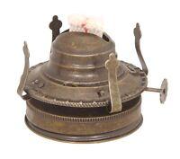 Oil Lamp Antique Brass Burner Kit Turn Mason Jar Into Hurricane Lamp By Pld
