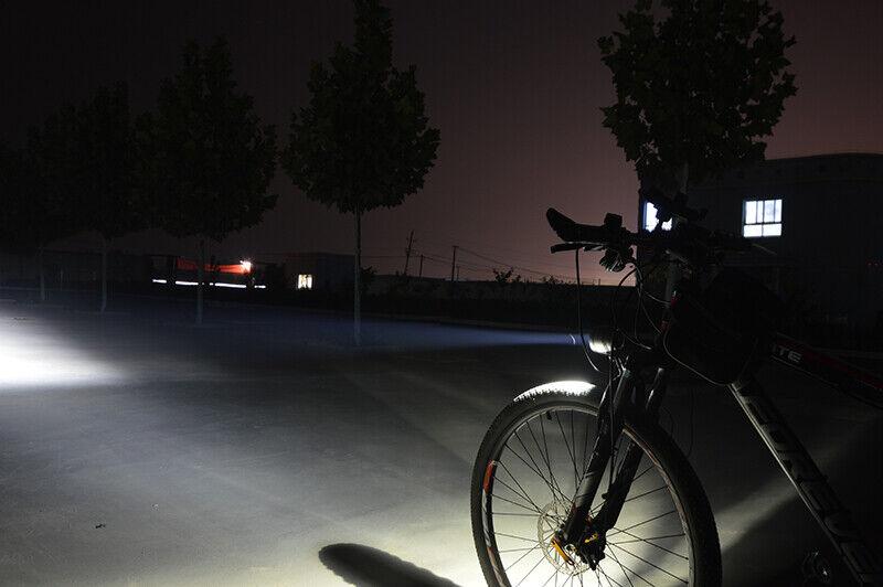 Trelock LS693 Bike-I uno Led Black Light Lux Front Light Bike Cycle Light dynamo