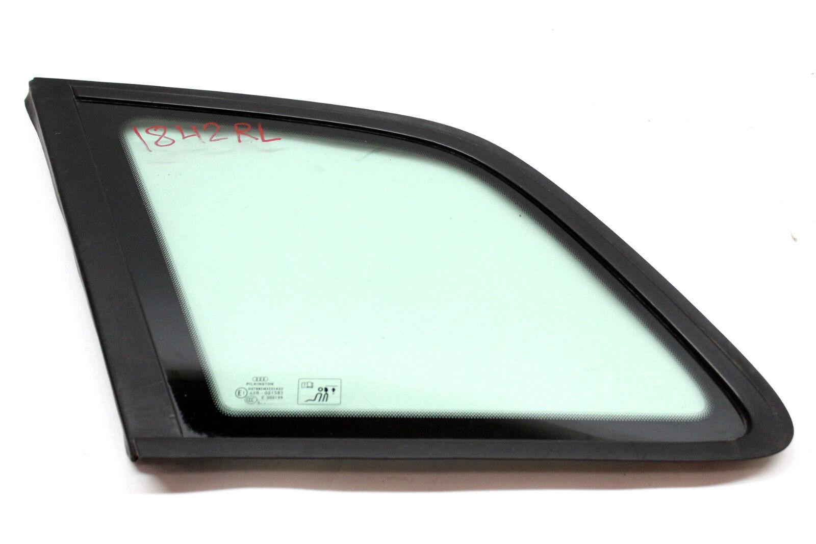 Audi 2011-2013 A3 Wagon Rear Left Door Window Glass OEM 8p4845299c