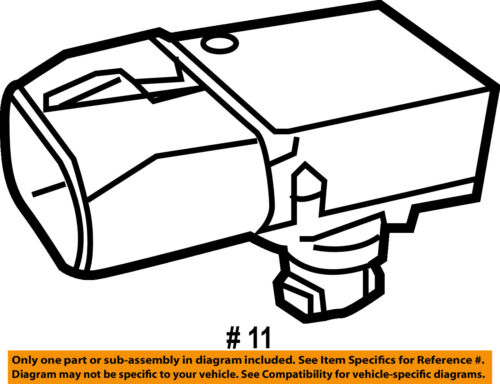 CHRYSLER OEM-MAP Manifold Absolute Pressure Sensor 5149174AB