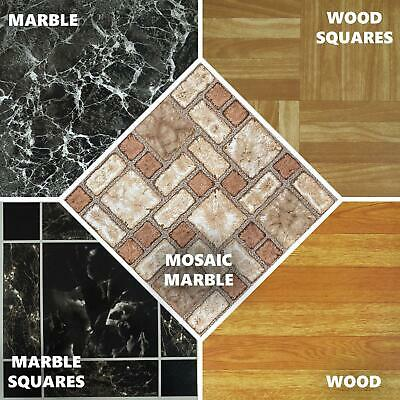 Vinyl Floor Tiles Self Adhesive Easy To Fit Flooring Diy Kitchen