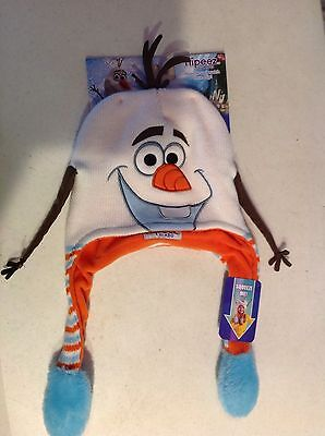 Heidi Knit Hat As Seen on TV NEW Disney Frozen Olaf Flipeez