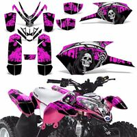 Decal Graphics Kit For Polaris Outlaw 50 Atv Quad Graphics Wrap Deco Reap Pink