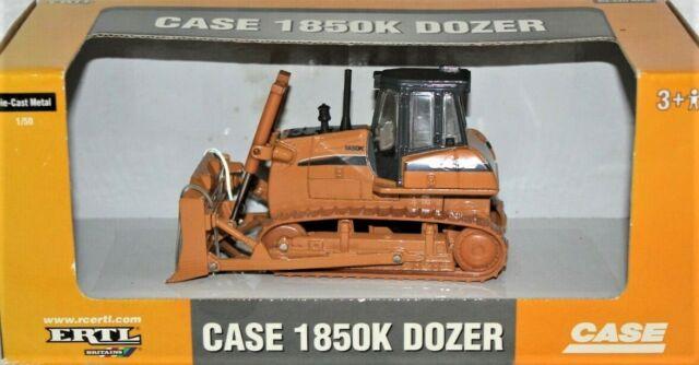 Ertl 14306 Case 1850K Track Bulldozer 1/50 Die-cast MIB