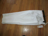 Women's Alfred Dunner French Rivera Stretch White Pants Short 24