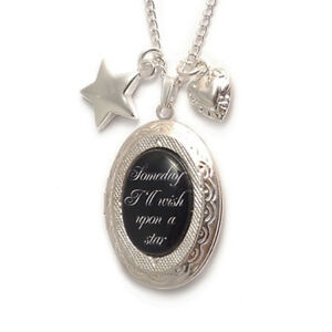 WIZARD-OF-OZ-locket-Someday-I-039-ll-wish-upon-a-star-necklace-charm-heart-dorothy