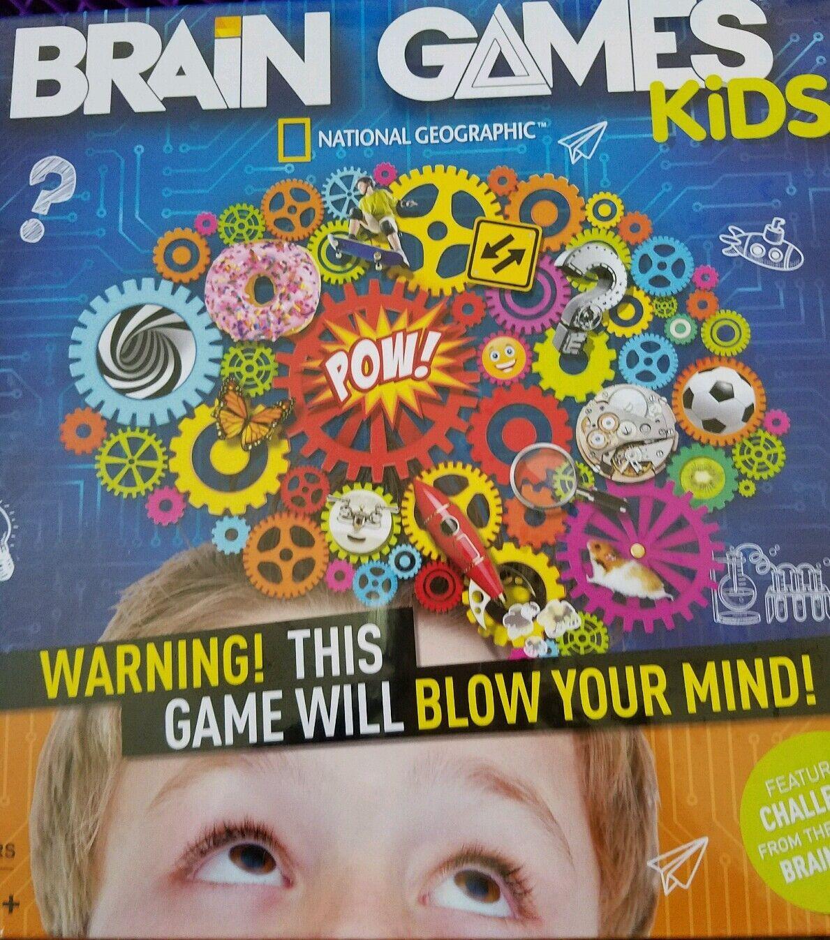 National geographic gehirn spielen kinder brettspiel neu in der box