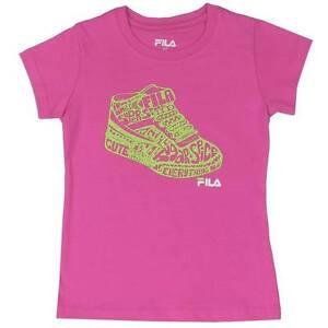 FILA-Girls-Tshirt-Top-034-Shoe-034-Size-2-3-4