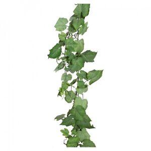 ARTIFICIALE-weinlaubgirlande-FOGLIE-DI-VITE-165-cm-lunga-verde