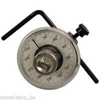 Drehwinkelmessgerät 0-360° Drehwinkelmesser Winkelmesser Gradmesser Werkzeug