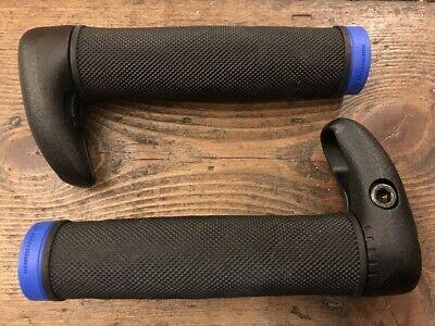 Grit With Minibar Herrmans Lock On Handlebar Grips Black//Green