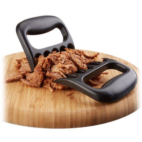 2x BBQ Carne Artiglio Set pulled Pork Orsi l/'artiglio grill carne Orso Artiglio FORCHETTE