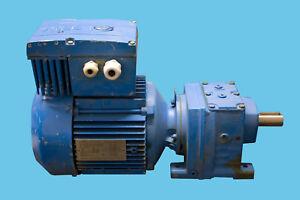 SEW-Getriebemotor-R37DT90S4-MM11-BW1-1-1kW-mit-Frequenzumrichter-21-106-U-min