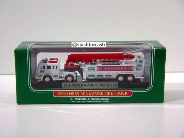 Hess 2010 Mini Fire Truck