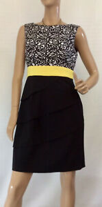 CONNECTED-APPAREL-SIZE-10-TIERED-DRESS
